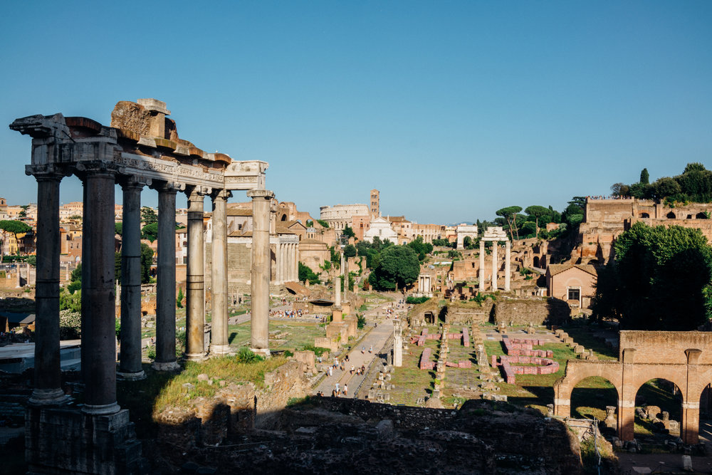 The Roman Forum, or  Foro Romano
