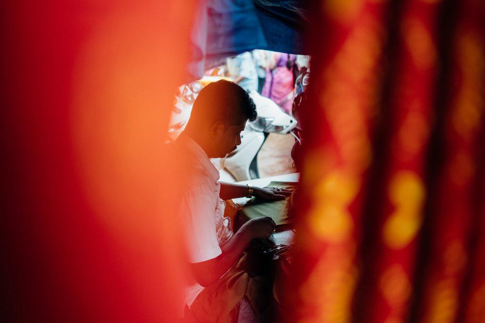 Krishna Rajendra Market, or City Market, Bangalore