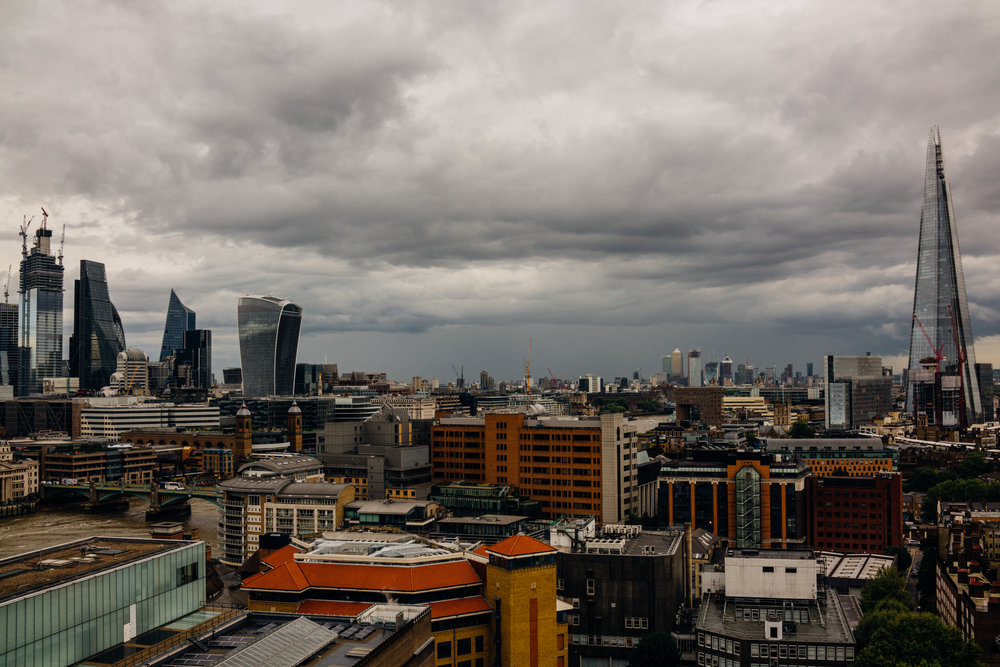 View of London from the Tate
