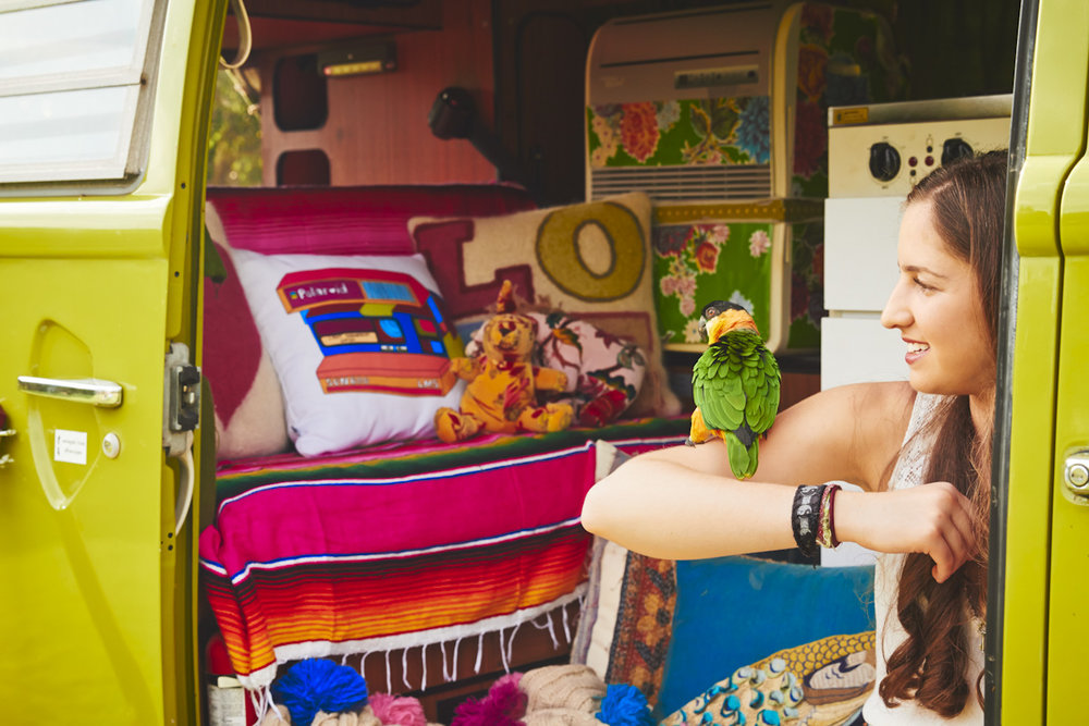 lime-green-hippie-vw-bus-girl-parrot-lifestyle-photography.jpg