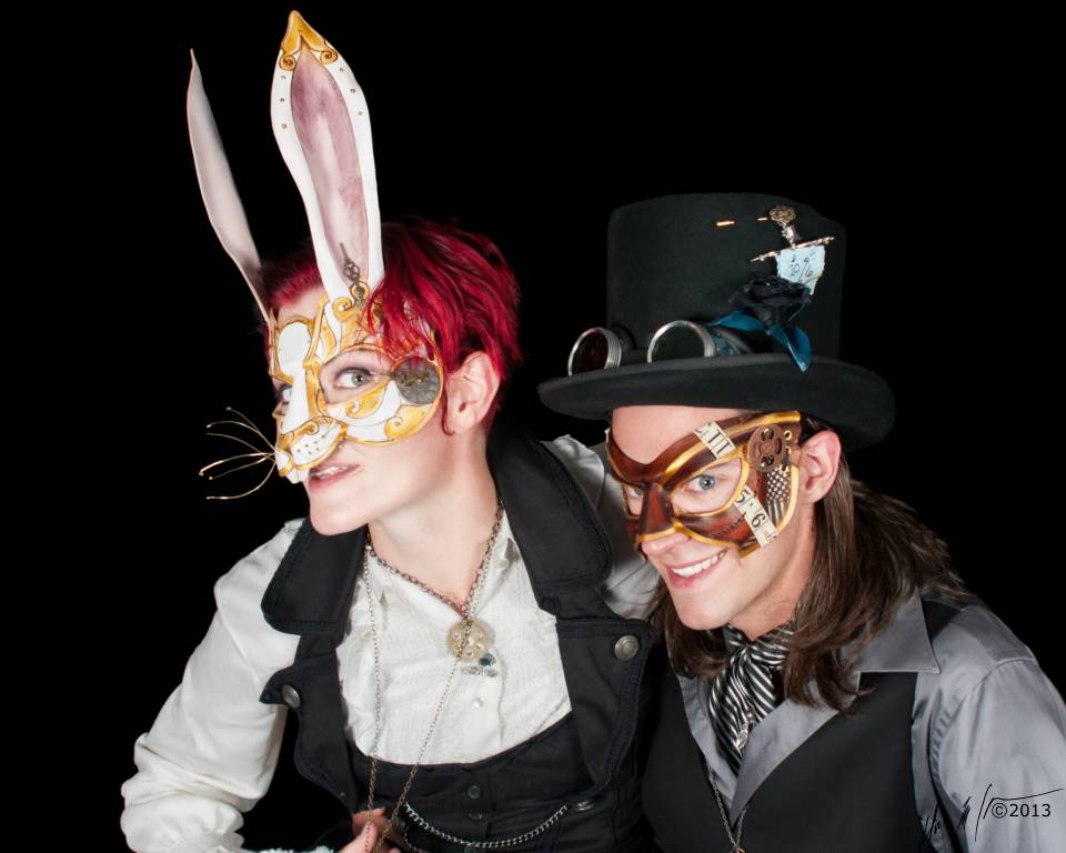 Mad Hatter and White Rabbit, 2013