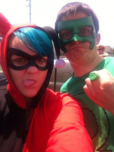 Harley Quinn and Green Lantern, 2014
