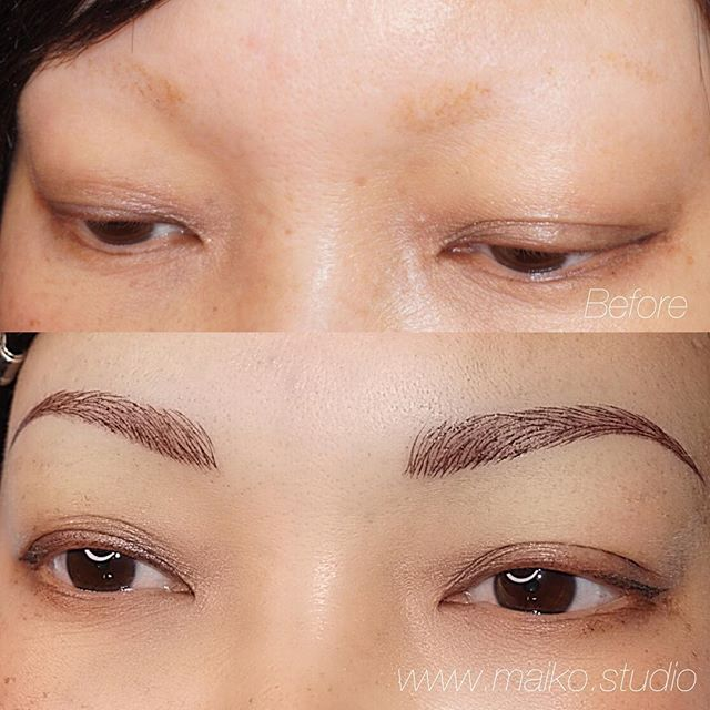 ◽️Alopecia is an autoimmune disorder that affects millions of people.  Alopecia can be emotionally challenging and the morning make-up routine can be tedious. ◽️We hope this 3 dimensional powder-fill+microblading combo can help this beautiful young super mom with her busy morning routines. ◽️ . . . . .  #browsonpoint #nanobrows #powderfill #3dimensional  #microblading #microbladedbrows #vancity #permanentmakeup #featheredbrows #3dbrows  #realismtattoo #naturalbrows #yvr #vancouvermicroblading #gastown #vancitybuzz #eyelift #vancouver #eyebrowtattoo #britishcolumbia #waterproof #browsonfleek #vancouvermicropigmentation #アートメイク #日系 #眉毛 #眉メイク #vancouver #バンクーバー #カナダ #タトゥー