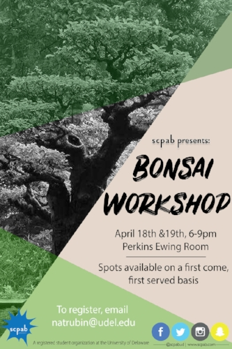 Univeristy of Delaware  Bonsai Poster  April 2018  small version.jpg