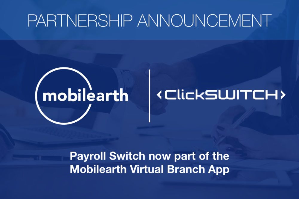 Mobilearth Clickswitch partnership