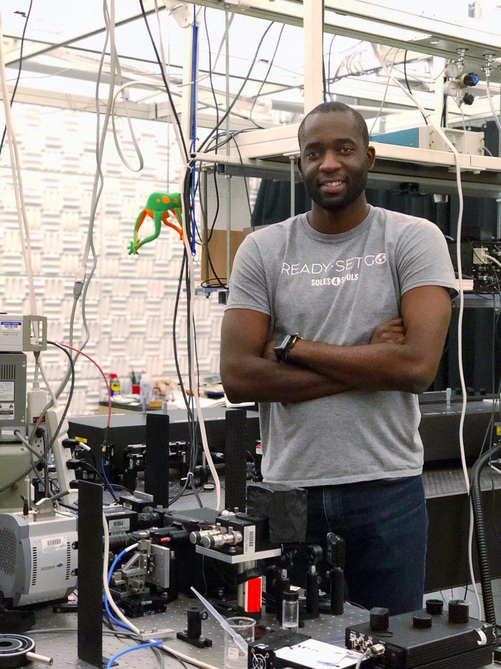 Meet this week's pheatured scientist - Phuture Dr. Kemar Reid