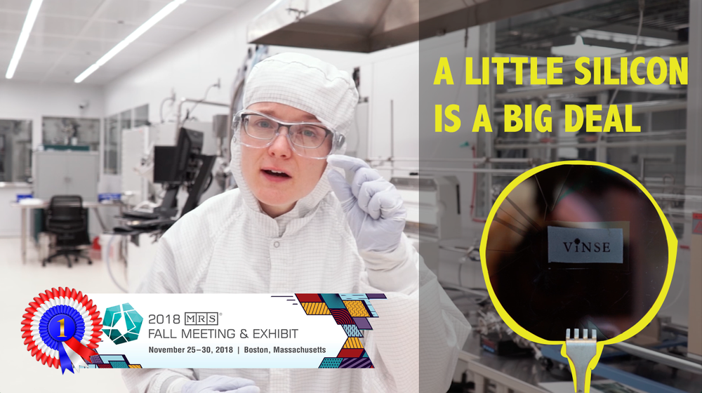 Episode 003 - A Little Silicon is a Big DealCleanrooms are predominately used to manufacture electronic components because they provide an environment free from dust and contaminants. This video shows why cleanrooms are used to fabricate silicon transistors, and how silicon is used to power electronic devices.First Place Winner in the 2018 MRS Science in Video competition!