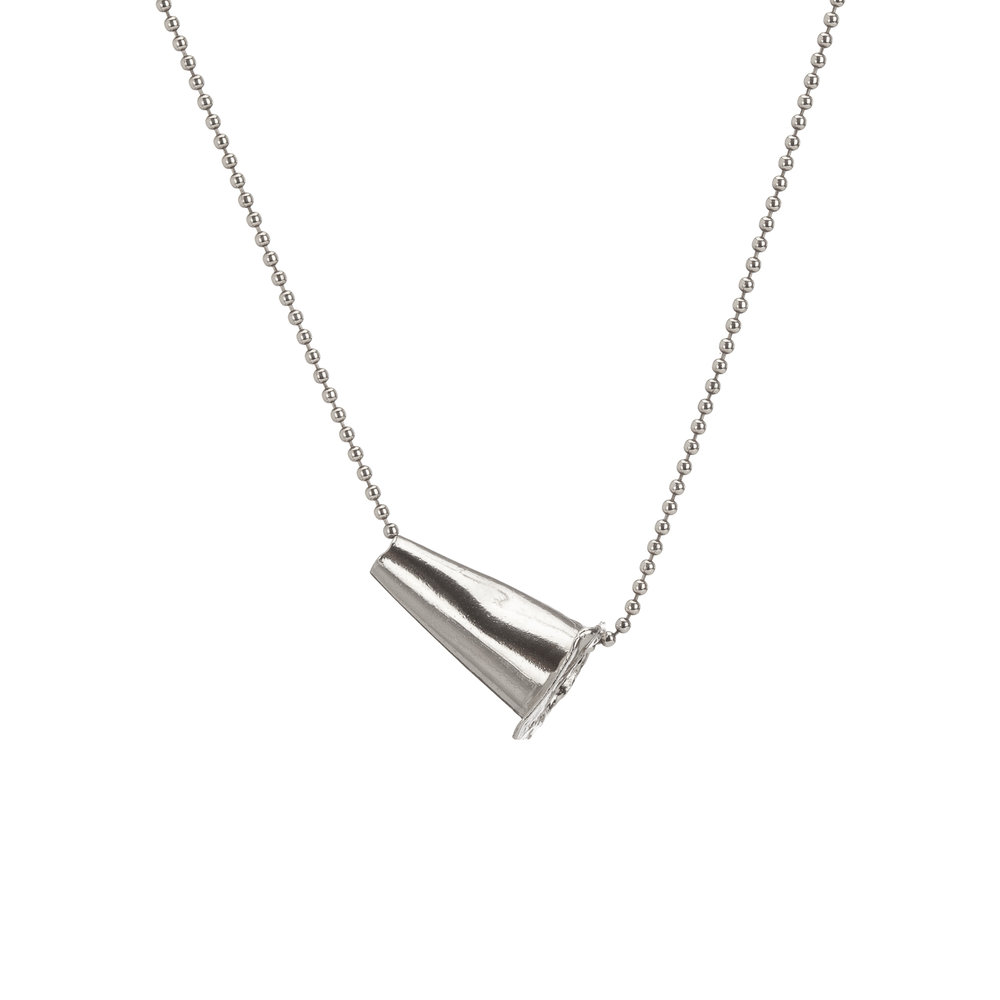 Traffic cone | sterling silver