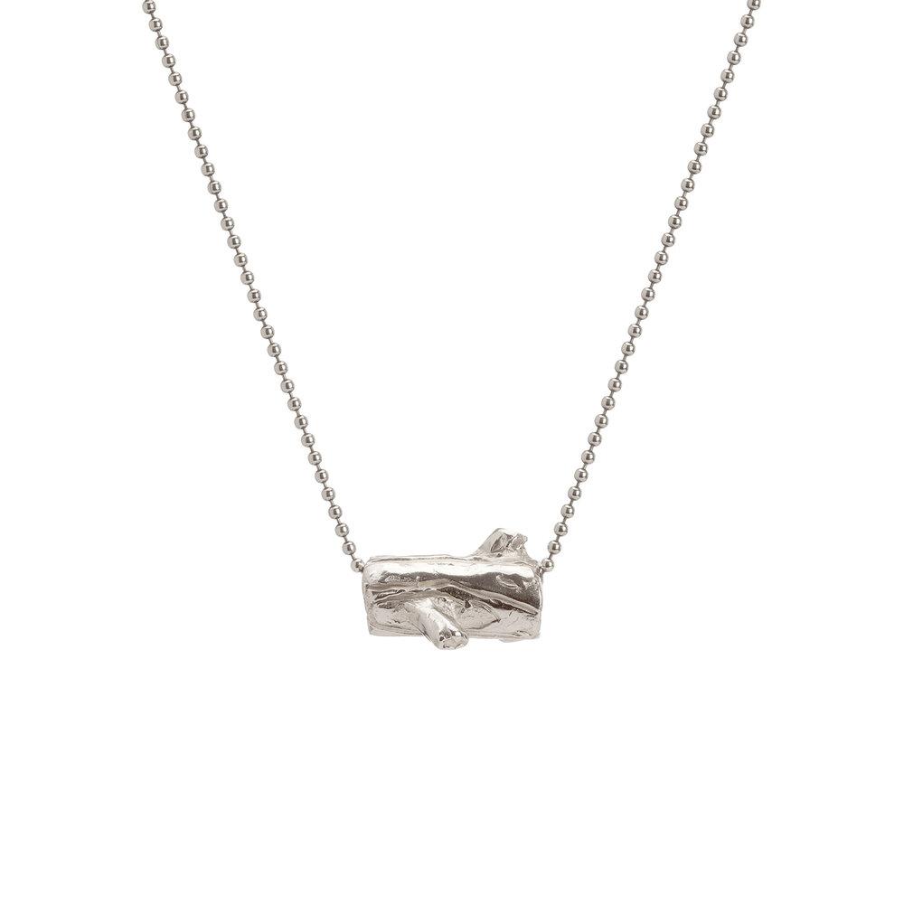 Log | Sterling silver