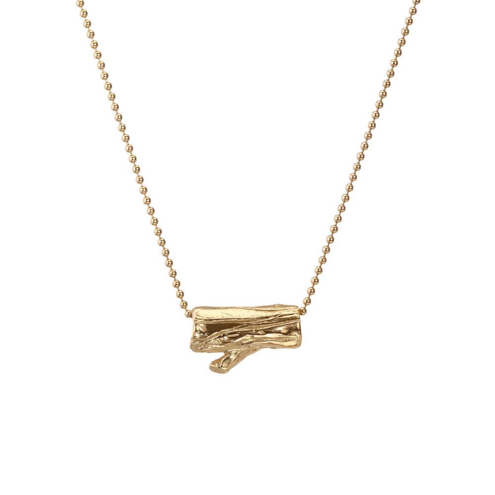 Log | 18k gold