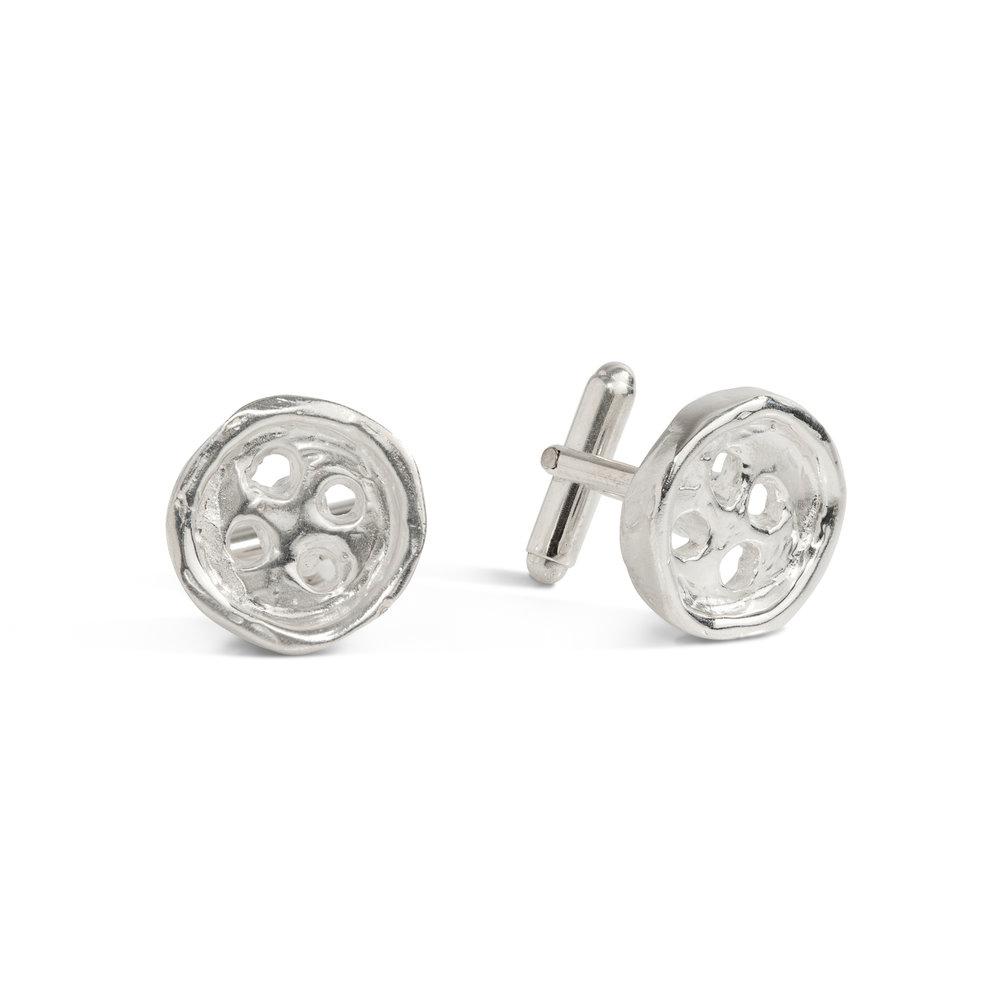 Buttons cufflinks | sterling silver