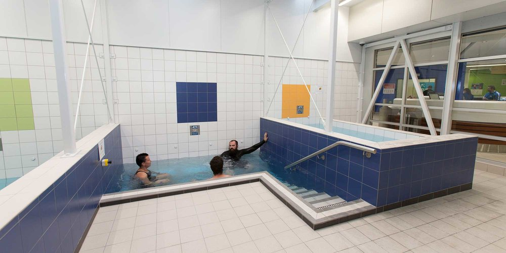'Hotspot' spa pools at WRAC.