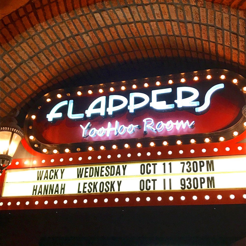 10/11/17 -  We headlined our first show at Flappers Comedy Club in Burbank!