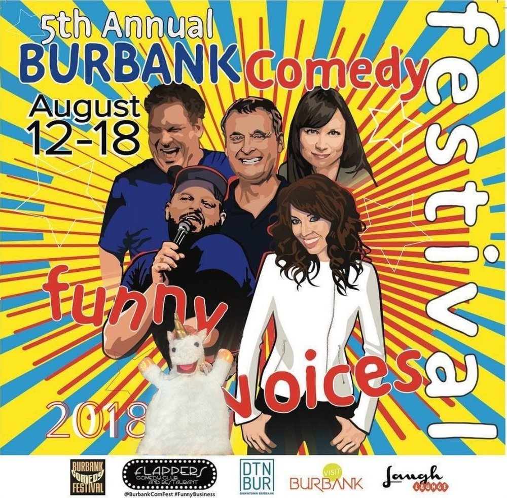 08/18/18  - We made it into Best of the Fest at the Burbank Comedy Festival!   https://www.flapperscomedy.com/burbank-comedy-festival/comedians/best-of-the-fest/