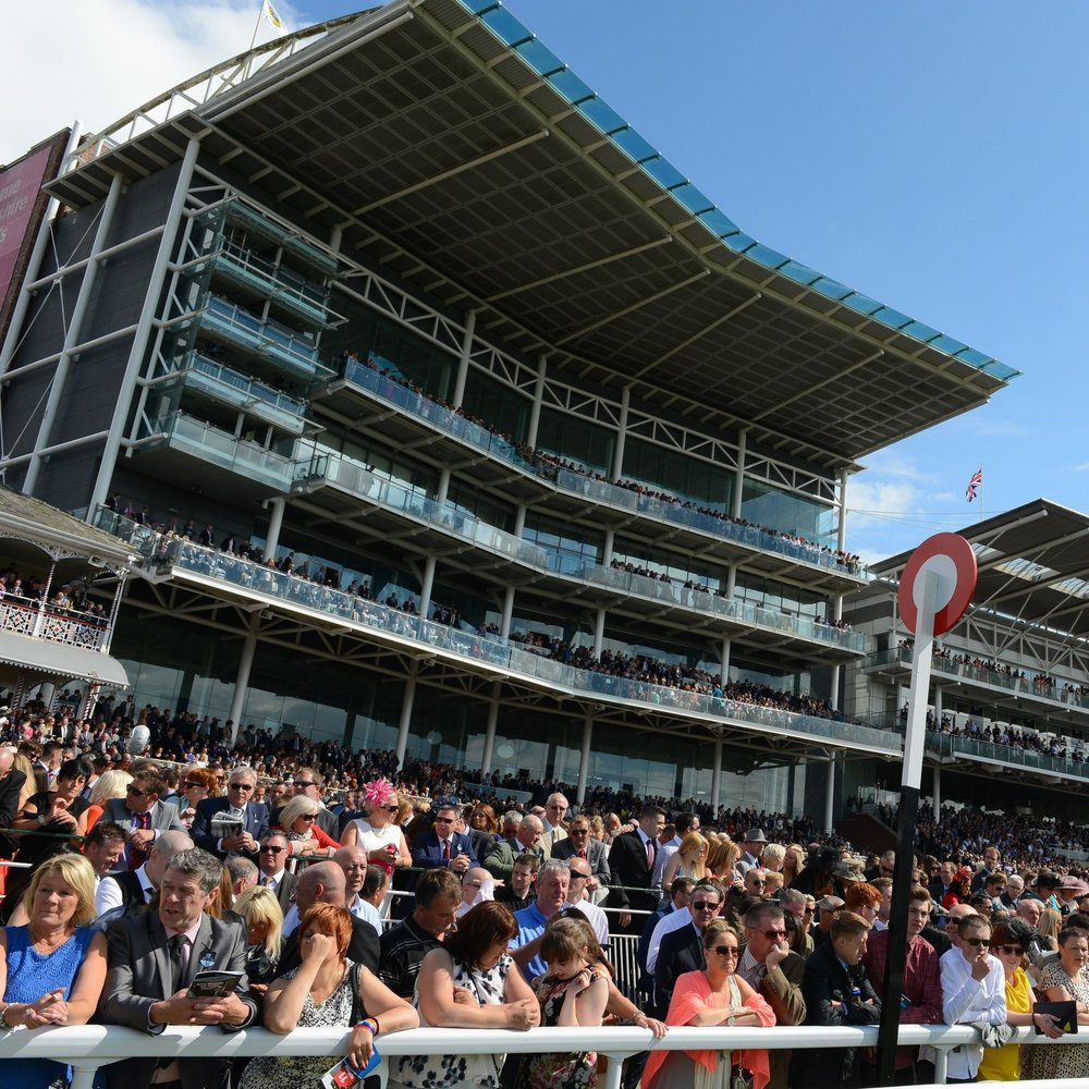 Ebor Stand Box  - £395 Per PersonA spectacular Judge's Eye view of the action on the track located on the third floor, overlooking the Winning Post. Every box with its balcony, York Raceday Television and reserved access to both to pool and restroom facilities.