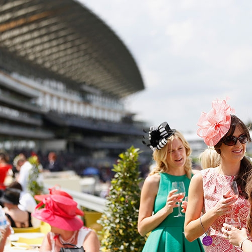 The Furlong Club - We are proud to offer the best in official Royal Ascot hospitality packages for the 2018 meeting, as an Official Hospitality Supplier (OHS) appointed directly by Ascot.The Furlong Club occupies a prime location, course facing immediately to the right of the main Grandstand and as the name suggests just inside the furlong pole giving a spectacular view as the racing action unfolds.Benefitting from a private balcony and elevated position this gives you a great spot to enjoy the racing and the Royal Procession. Incidentally, as the Royal Procession passes, the Furlong Club the members of the Household Cavalry strike up the National Anthem. If you are a proud Royalist, it's a real spine-tingler!