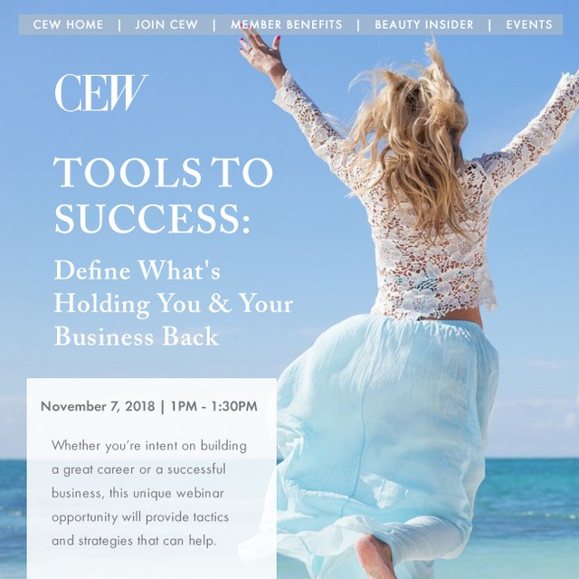 "Have you registered yet? Alisa is hosting a webinar with the @CEWinsider!  When it comes to building a successful business or career, intelligence and hard work may not be enough. Mastering soft skills such as emotional management, self-awareness, confidence, and perseverance can be the difference between advancement or missed opportunities. And LemonTree Partners can help. Founded by Alisa Marie Beyer, beauty veteran and former owner of Coastal Salt & Soul, LemonTree Partners helps beauty entrepreneurs and executives around the globe bring balance and clarity to their lives. By focusing on four key development areas, Alisa has developed a protocol to help you achieve your greatest potential at work and more deeply in your own life. ""While building my first company, I spent most of my time feeling stressed out, worried and overwhelmed,"" explained Alisa. ""I had expected success to arrive sooner and was shocked by how hard I had to work to make such minimal progress. This webinar will go over the small shifts I learned that can change your business, career and life forever."" Tools to Success: Define What's Holding You and Your Business Back will take place on Wednesday, November 7 from 1:00-1:30PM EST. Tickets are $50 for members and $75 for nonmembers. Whether building your own beauty company or climbing the corporate beauty ladder, don't miss this unique learning opportunity from someone who has been in your shoes!  Register here: https://bit.ly/2Cy3ODE  #cew #cewinsider #beautyinsider #cewevents #beauty #gcimagazine #WomeninBusiness #womeninbiz #womenentrepreneurs #FemaleFounders #femaleentrepreneur #ProfessionalWoman #sheboss #HERstory #WomenCanDoIt #successfulwomen #inspiringwomen #womenwhoinspire #womensupportingwomen #womenwholead"