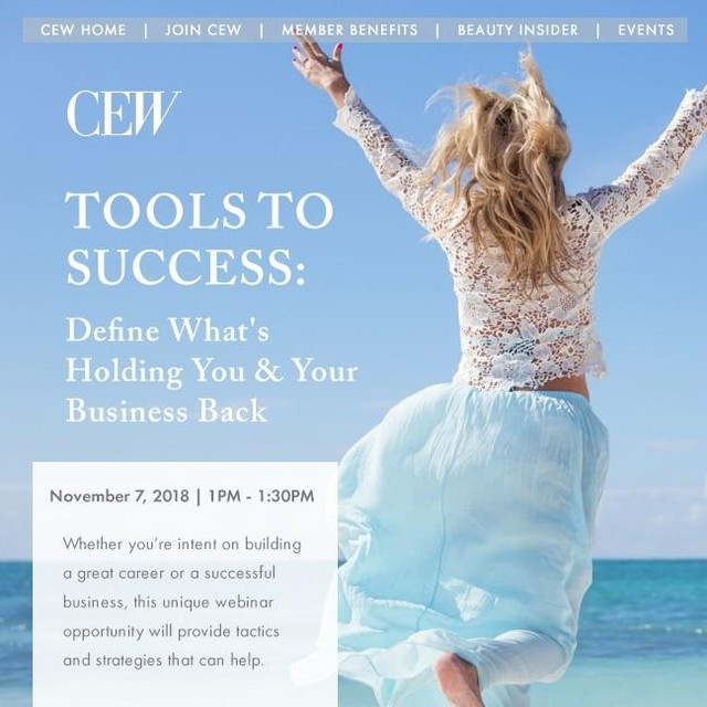 "Have you registered yet? Alisa is hosting a webinar with the @CEWinsider TOMORROW!  When it comes to building a successful business or career, intelligence and hard work may not be enough. Mastering soft skills such as emotional management, self-awareness, confidence, and perseverance can be the difference between advancement or missed opportunities. And LemonTree Partners can help. Founded by Alisa Marie Beyer, beauty veteran and former owner of Coastal Salt & Soul, LemonTree Partners helps beauty entrepreneurs and executives around the globe bring balance and clarity to their lives. By focusing on four key development areas, Alisa has developed a protocol to help you achieve your greatest potential at work and more deeply in your own life. ""While building my first company, I spent most of my time feeling stressed out, worried and overwhelmed,"" explained Alisa. ""I had expected success to arrive sooner and was shocked by how hard I had to work to make such minimal progress. This webinar will go over the small shifts I learned that can change your business, career and life forever."" Tools to Success: Define What's Holding You and Your Business Back will take place on Wednesday, November 7 from 1:00-1:30PM EST. Tickets are $50 for members and $75 for nonmembers. Whether building your own beauty company or climbing the corporate beauty ladder, don't miss this unique learning opportunity from someone who has been in your shoes!  Register here: https://bit.ly/2Cy3ODE  #cew #cewinsider #beautyinsider #cewevents #beauty #gcimagazine #WomeninBusiness #womeninbiz #womenentrepreneurs #FemaleFounders #femaleentrepreneur #ProfessionalWoman #sheboss #HERstory #WomenCanDoIt #successfulwomen #inspiringwomen #womenwhoinspire #womensupportingwomen #womenwholead"
