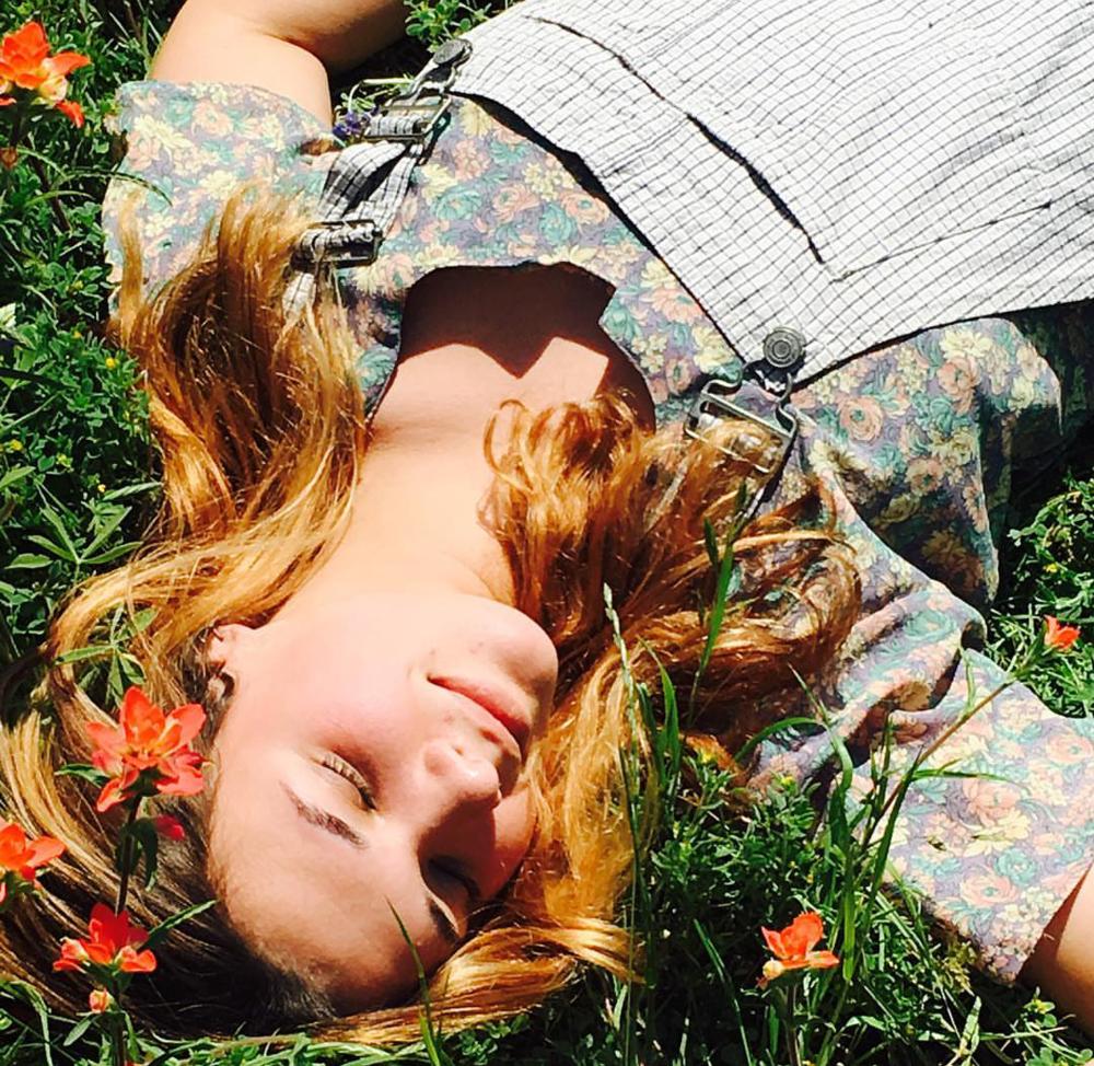Chloe's field of dreams!