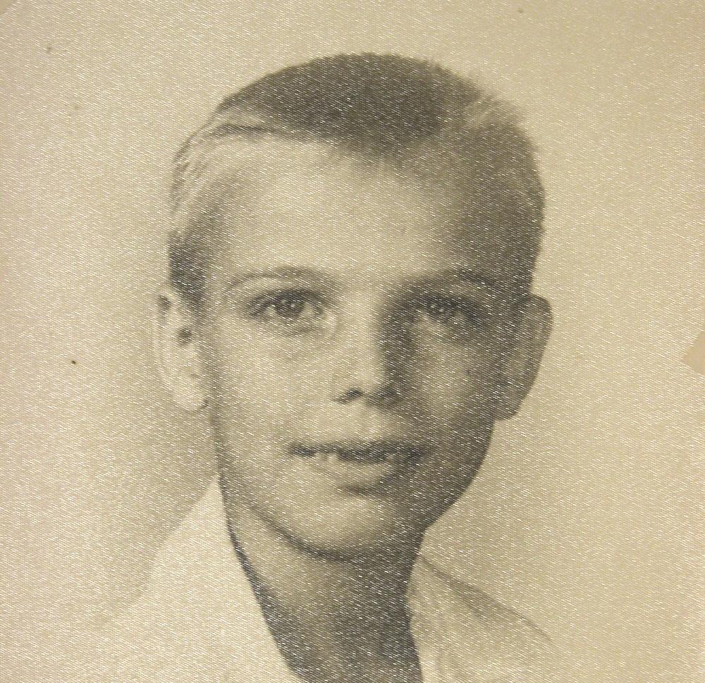 Bob McNeil - 1955 - Age 6 - Houston, Texas