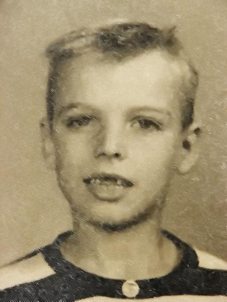 Bob McNeil - 1956 - Age 7 - School Pic