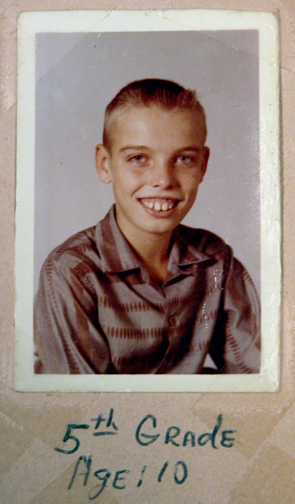 Bob McNeil - 1959 - Age 10 - Fifth Grade School Pic