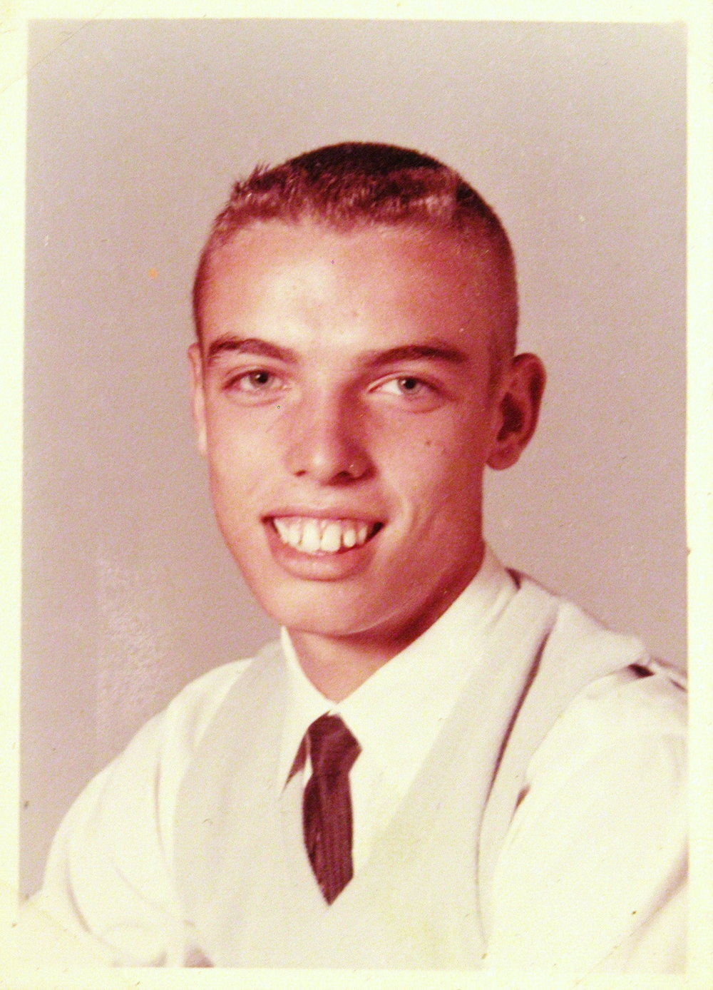 Bob McNeil - 1964 - Age 15 - Ninth Grade - Channelview High School Picture