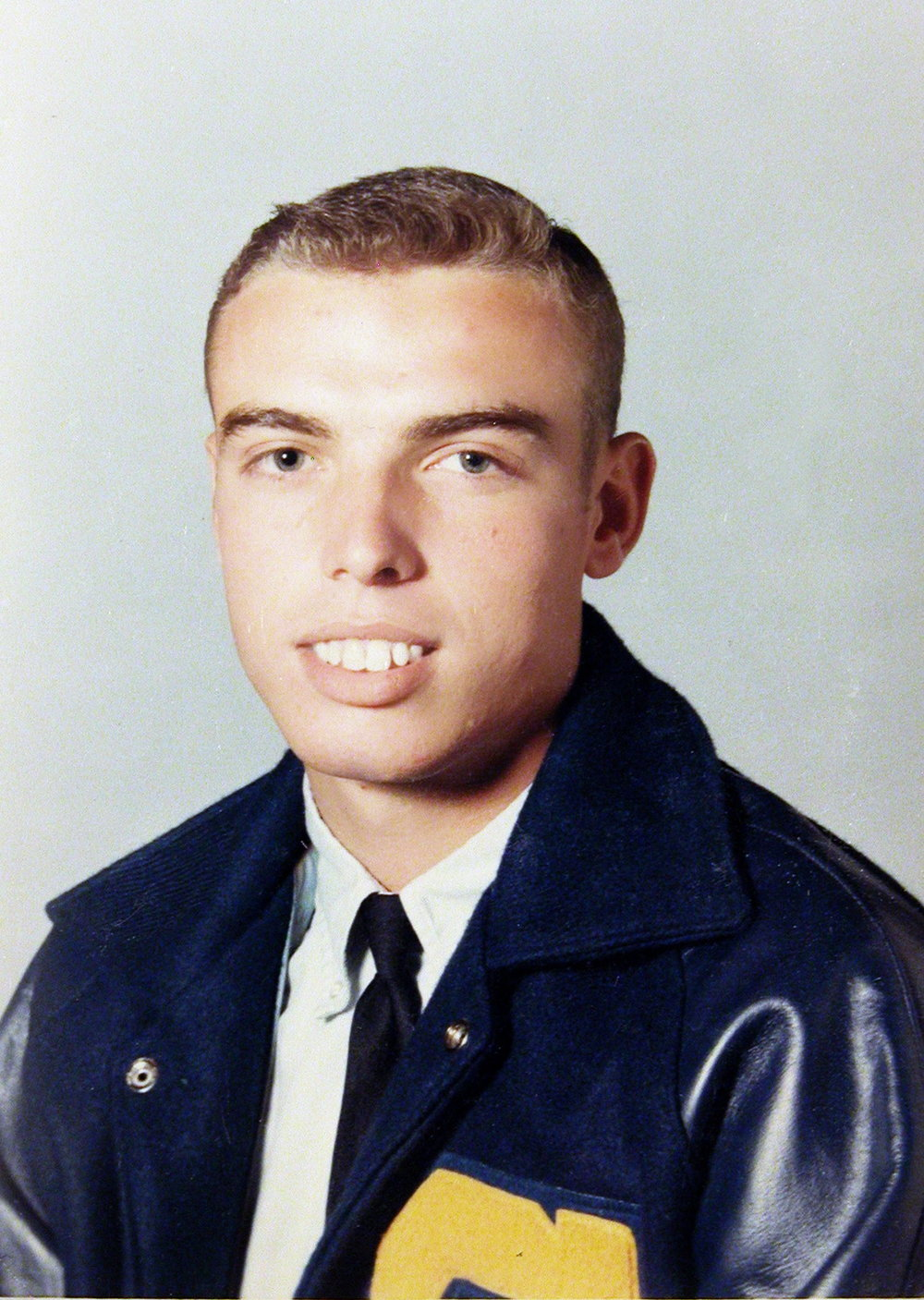 Bob McNeil - 1967 - Age 18 - Twelfth Grade - Channelview High  School Picture