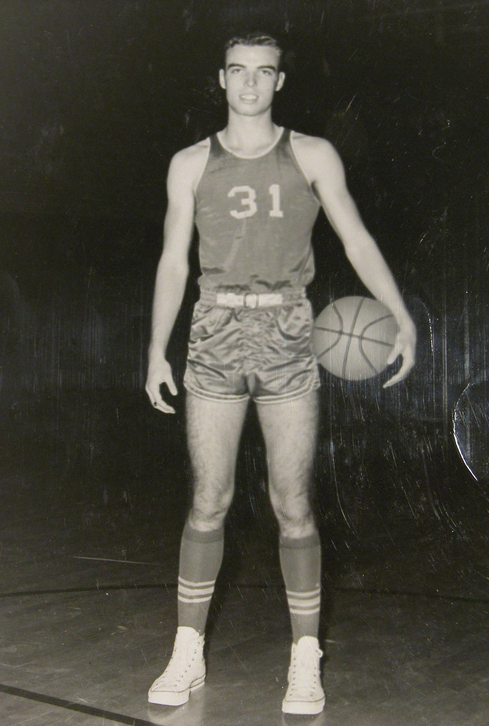 Bob McNeil - 1967 - Age 18 - Twelfth Grade - Channelview High School - Basketball Picture