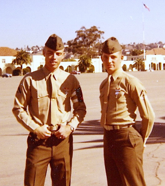 Bob McNeil - 1970 - Age 21 - U.S. Marine Corps - Aviation Radio Repair Course - San Diego, California