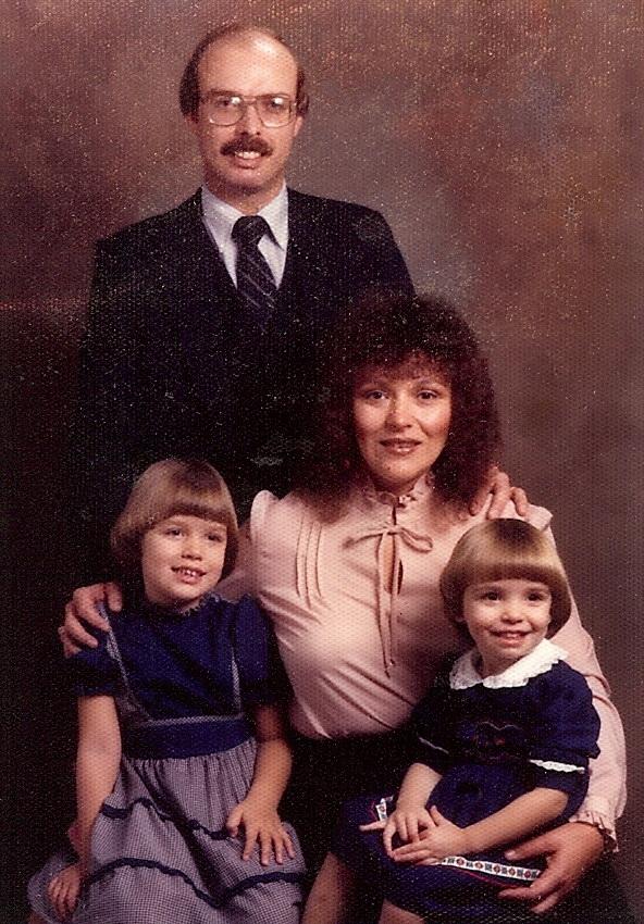Bob McNeil - 1981 - Age 32 - Family Portrait