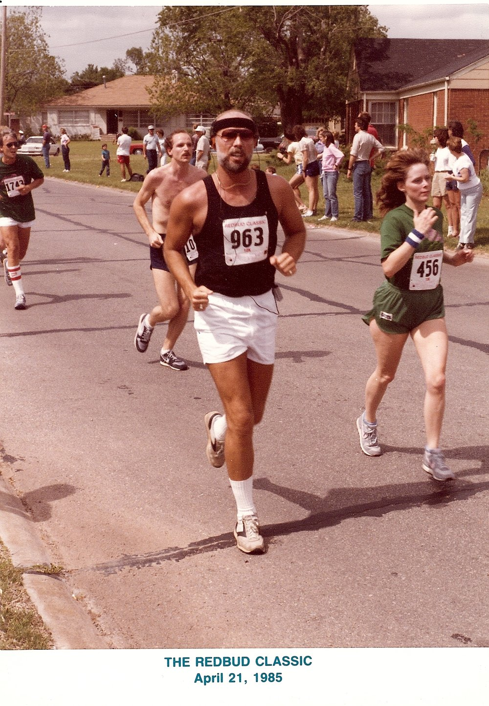 Bob McNeil - April 21, 1985 - Age 36 - Redbud Classic 10K in Oklahoma City, Oklahoma