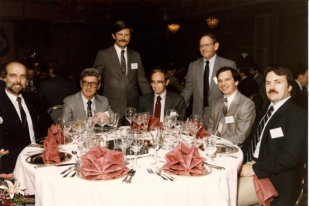 Bob McNeil - 1985 - Age 36 - Tenneco Oil Company - 10-Year Awards Banquet - Houston, Texas