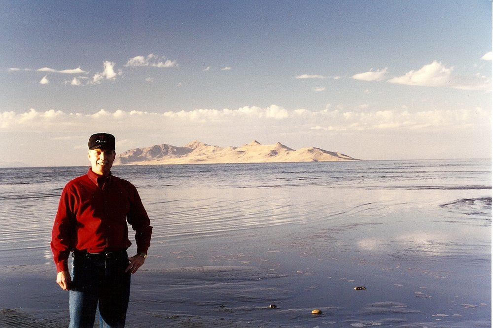 Bob McNeil - 1991 - Age 42 - Travels with Enron - Great Salt Lake, Utah