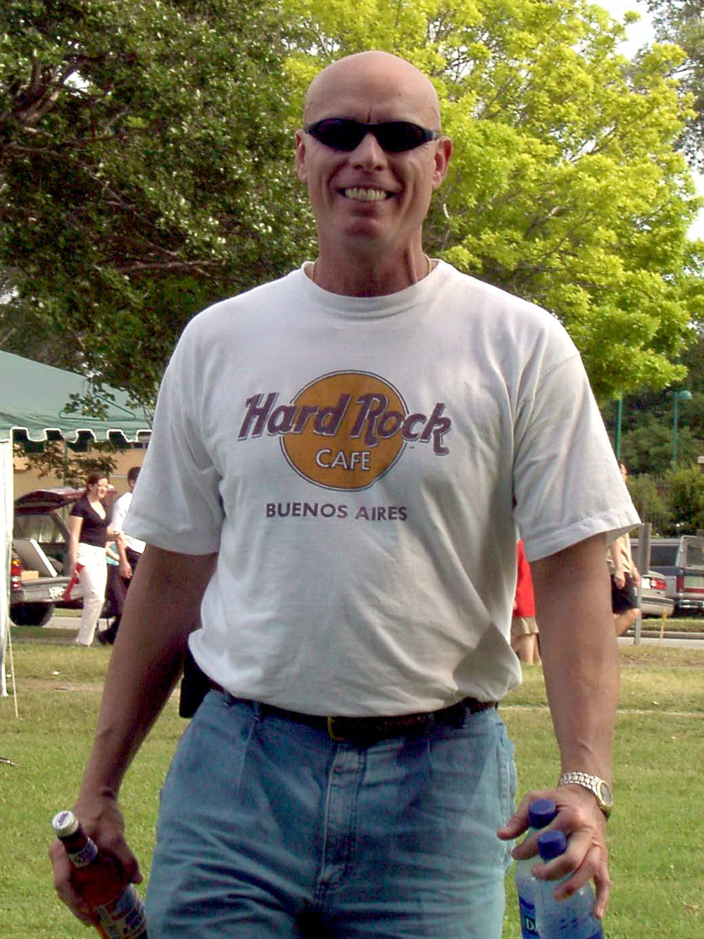 Bob McNeil - 2001 - Age 52 - Attending a Festival in Houston, Texas