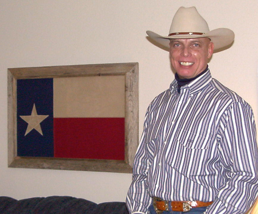 Bob McNeil - 2001 - Age 52 - Going to the Rodeo in Houston, Texas
