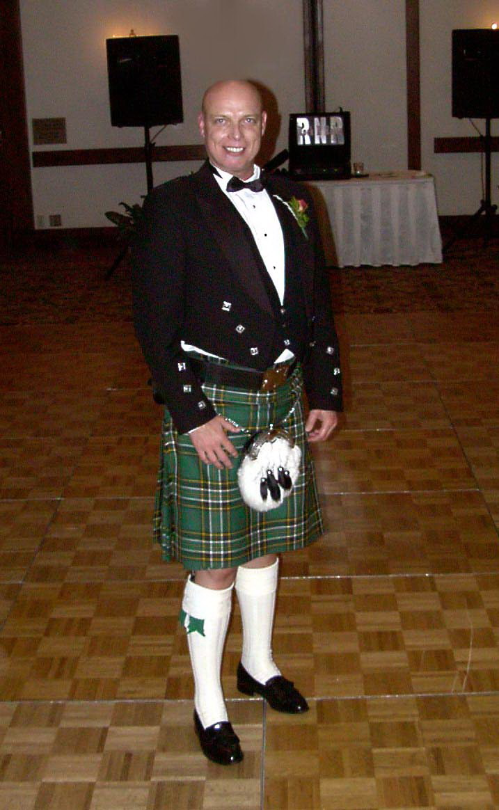 Bob McNeil - 2002 - Age 53 - Attending a Scottish Wedding in Houston, Texas