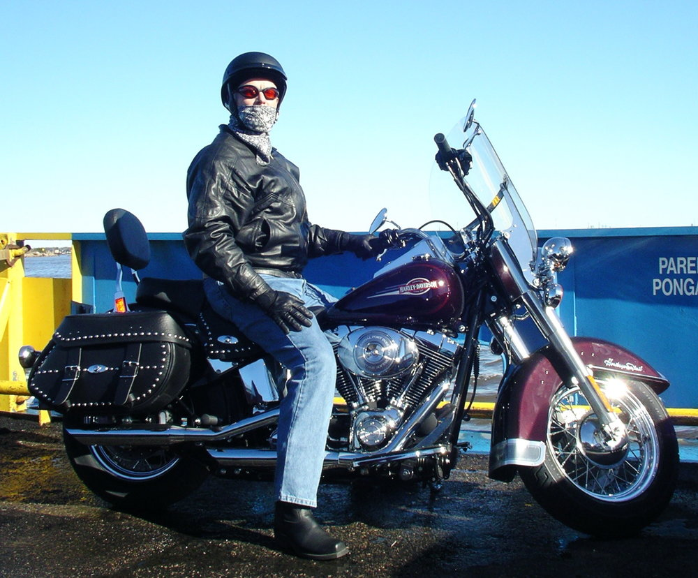 Bob McNeil - 2004 - Age 55 - December Motorcycle Ride