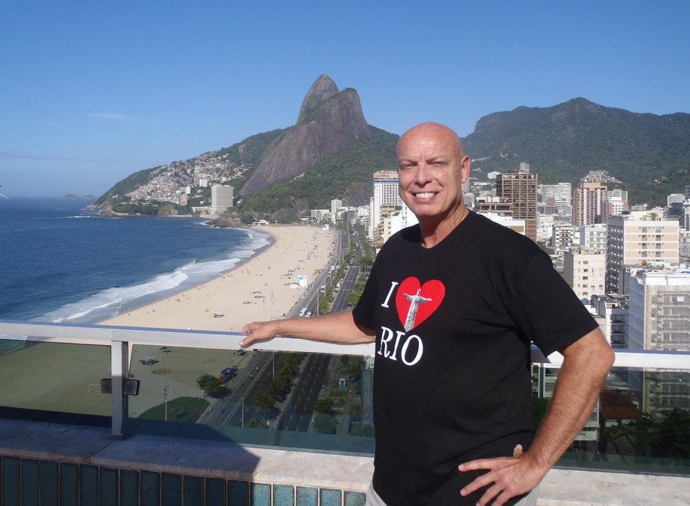 Bob McNeil - 2011 - Age 59 - Rio de Janeiro, Brazil