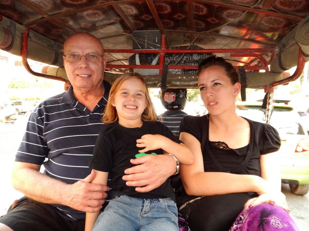 Bob McNeil - 2013 - Age 64 - Phnom Penh, Cambodia