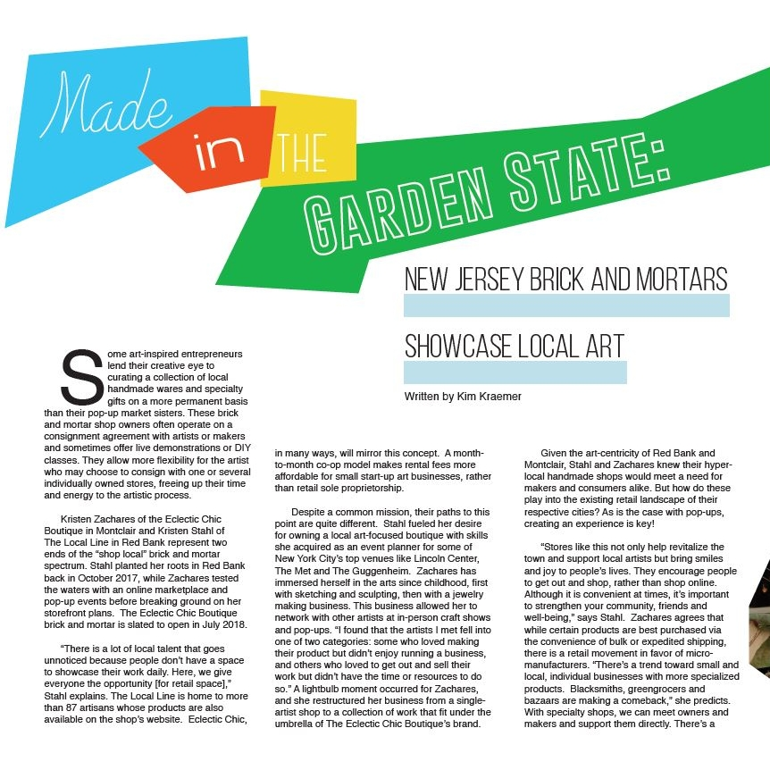 Marketspace Talks Local Brick and Mortar with Breaker Zine - June 29, 2018 Long Beach Island -- Local New Jersey Brick and Mortar shop owners of The Local Line and The Eclectic Chic Boutique discuss their small business journeys in Issue Five of Breaker Zine.