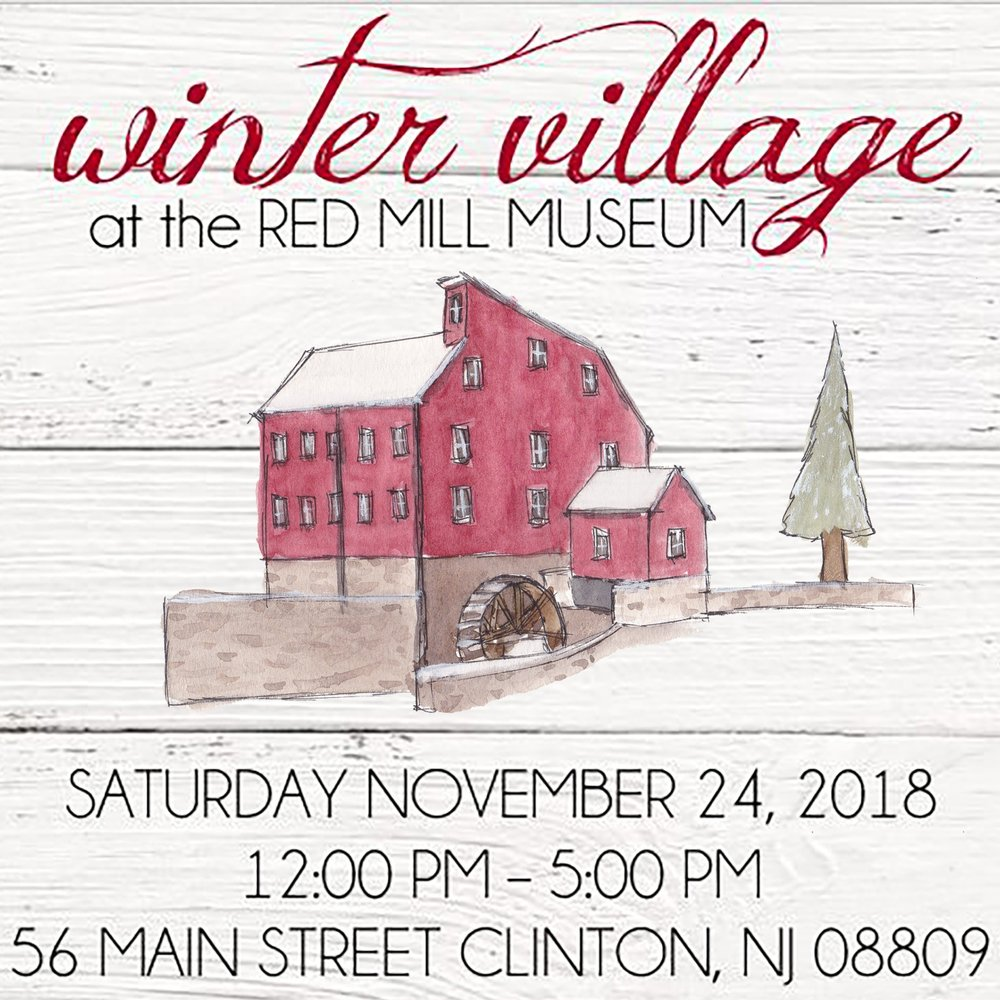 Winter Village at the Red Mill Museum - Nov 24, 2018 - Gold Sponsor LevelWarren SepticSilver Sponsor LevelCzig Meister BrewingBecker's Tax ConsultantsThe Max Challenge of ClintonSwing Graphics LLCLove and LetteringBella Organici Skin BarB LavishGrace Behavioral HealthOrchard View Lavender FarmNicole Delphous PhotographyBirds and IvyPerfectly Posh with Dawn NeilBronze Sponsor LevelThe POGO Beard Co.Sunnyside Gift CompanyCharlie Thyme DIY StudioOhana CreativePro Pet FencePerfectly Imperfect DezignsTouchstone Crystal by SwarovskiMary KayAddicted ChicBalic of ClintonAly to AshBeads Entirely
