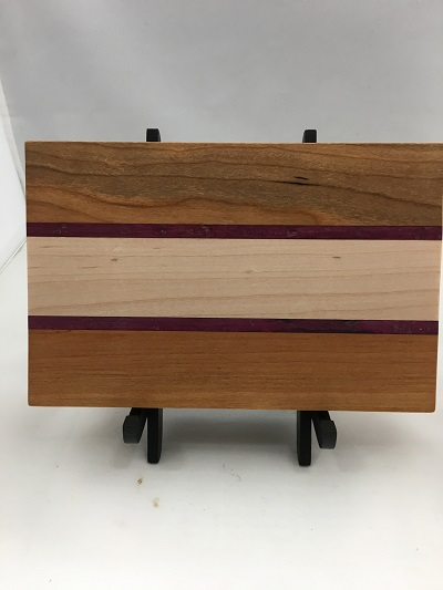 Cutting Board #2 Cherry, Maple,Purpleheart.jpg