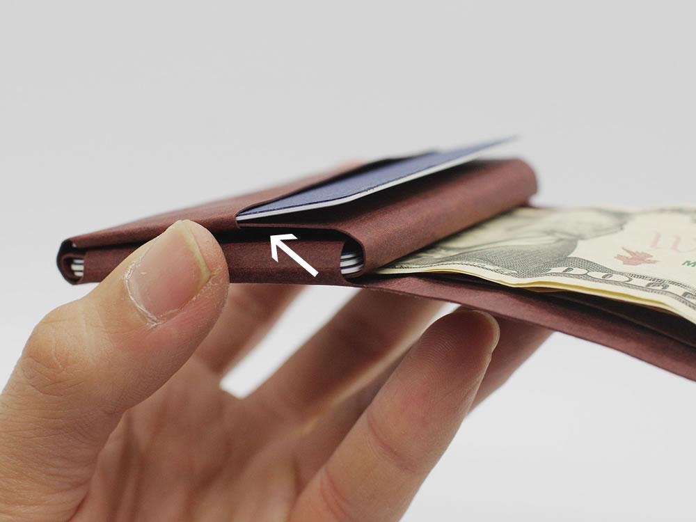 Kamino Wallet: Minimalist, slim wallet that helps you go simple.