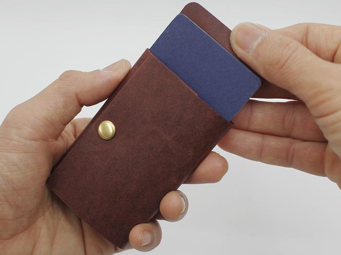 Kamino Card Wallet / Slim wallet, Minimalist wallet, Thin wallet, Vegan wallet, Eco-friendly wallet, Card wallet, Card holder, Paper wallet