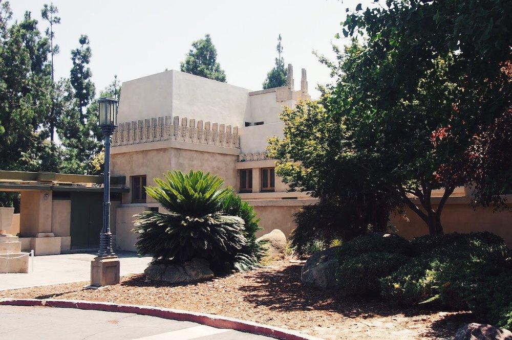 Hollyhock House Exterior