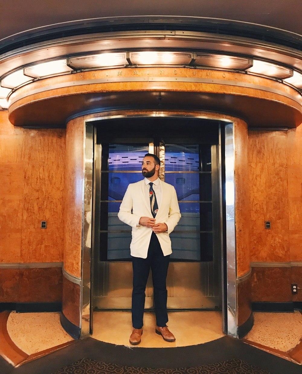 Below deck of the Queen Mary  Photo via  Finding Lost Angeles  (2017)