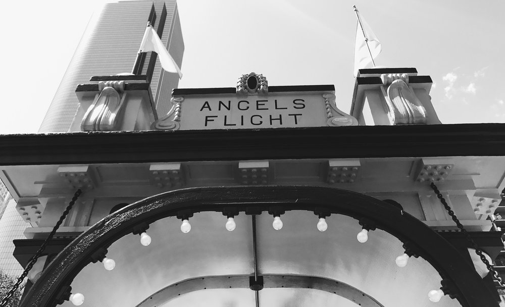 Angels Flight  Photo via  Finding Lost Angeles  (2017)