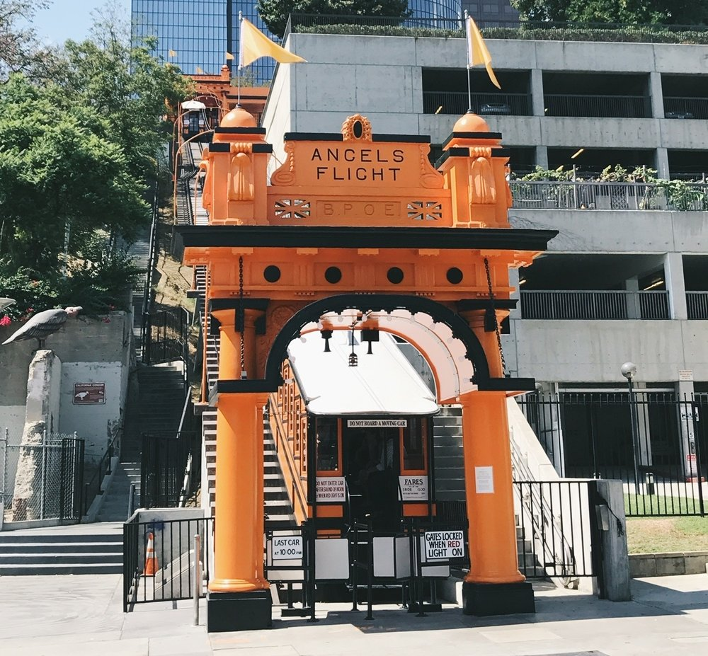 Angels Flight today  Photo via  Finding Lost Angeles  (2017)