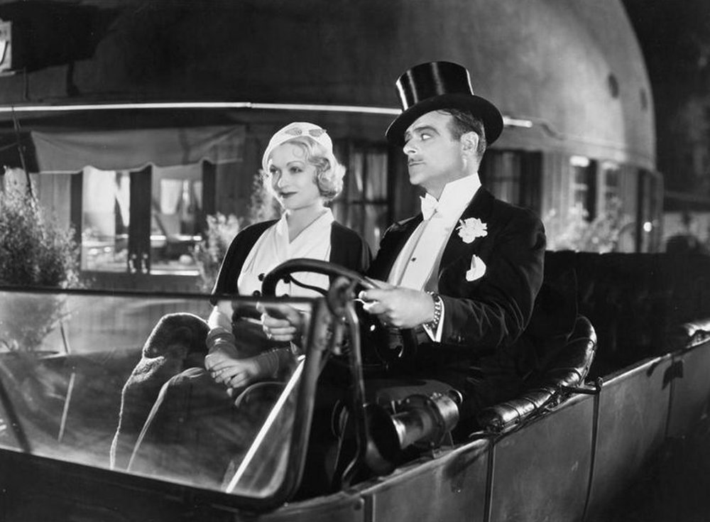 Constance Bennett and Lowell Sherman in  What Price Hollywood?  (1932)